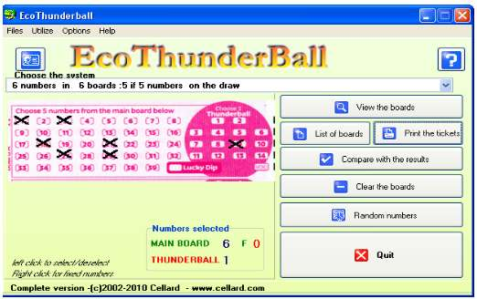 Thunderball , loto , lotto , UK lotto , Lottery , Lotteries , game,UK lotteries
