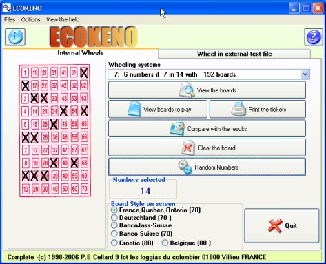 ECOKENO full screenshot